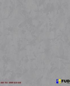 Giấy dán tường 99104 giả xi măng màu bạc cho phòng khách, phòng ngủ tai Hà Nội.
